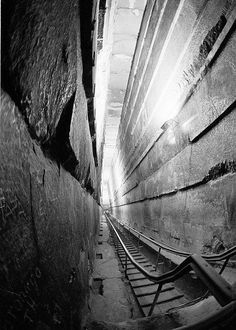 The Grand Gallery - Inside the Great Pyramid at Giza, Egypt More