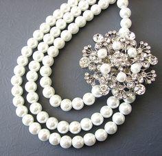 Bridal Pearl Necklace, 51,59 €