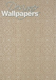 Stunningly detailed and full of history, this Alexander wallpaper from Thibaut's Natural Resource Two collection is a bold and dynamic design. Classic symbols of varying sizes combine to create a magnificent pattern that instantly adds character and prestige to any room.