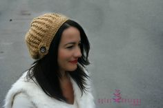 Ravelry: Lady Caramel pattern by Sylvi Designs Hand Knitting, Knitting Patterns, Knitted Hats, Crochet Hats, Giveaways, Ravelry, Doll Clothes, Caramel, Winter Hats