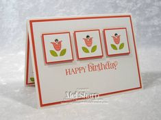 Blossoms Birthday by stampinandstuff - Cards and Paper Crafts at Splitcoaststampers