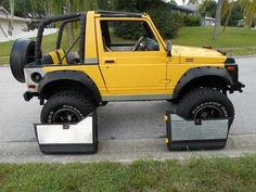 1988 Suzuki Samurai 4x4 lifted on 33's SPOA, image 7