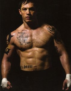 Tom Hardy in Shirtless with Sl... is listed (or ranked) 2 on the list Hot Tom Hardy Photos