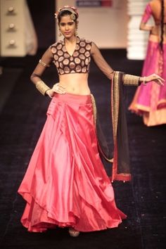 Neeta Lulla at Lakme Fashion Week 2012 Indian Bridal Wear, Indian Wear, Pakistani Outfits, Indian Outfits, Neeta Lulla, Indian Fashion Trends, Indian Look, Ethnic Chic, Indian Blouse