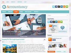 Accountancy Free WordPress Theme