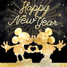 Feliz año a todos los fans disney 🧚‍♀️ . Disney Happy New Year, Happy New Year 2015, Happy New Year Images, Happy New Year Wishes, Happy New Year Greetings, Holiday Wishes, Year 2016, Happy 2017, Happy New Year Quotes