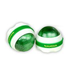 Nayoya Back Massager | Deep Tissue Massage | Swedish Massage | Foot Massage | Massage Ball Roller 2 pc. Deluxe Set