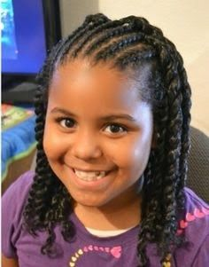 Picture of cute hair styles for black baby girls | Hairstyle Trends