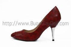 Giày cao gót hàng VNXK, chất liệu da thật, chiều cao 7cm, gót bọc kim loại