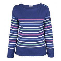 Camiseta náutica algodón de señora