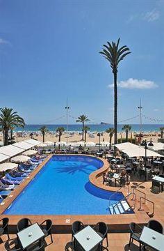 hotel direct aan het strand spanje