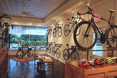 velosmith: Velosmith Bicycle Studio in Wilmette, IL. Gorgeous new space.
