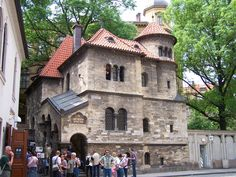 Klausen Synagogue is situated by the Old Jewish Cemetery in Josefov - Prague, Czech Republic