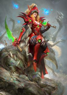 Valeera, Daniel Kamarudin on ArtStation at https://www.artstation.com/artwork/ONEPK