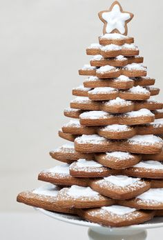 gingerbread tree barefootstyling.com