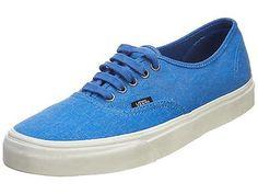 Vans Authentic Mens VN-0ZUK-FIZ Nautical Blue Casual Skate Shoes Sneakers Size 8