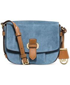 bb4cd064eca5 MICHAEL Michael Kors Romy Medium Messenger Handbags   Accessories - Macy s