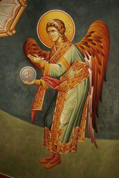 Religious Icons, Religious Art, Holy Quotes, Byzantine Icons, Archangel, Prado, Choir, Christianity, Catholic