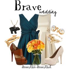 """Brave - Wedding"" by disneythis-disneythat on Polyvore"