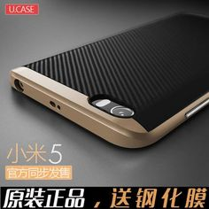 Xiaomi mi5 Case Cover TPU + PC Hybrid Dual Layer With Frame Back Cover…