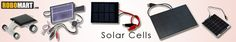 Robomart - Online store for batteries, battery chargers, solar cells, solar panel batteries and other related products.