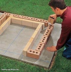 DIY Brick Barbeque – Back yard grill Outdoor Stove, Diy Outdoor Kitchen, Backyard Kitchen, Backyard Bbq, Backyard Patio Designs, Backyard Projects, Diy Patio, Grill Diy, Barbecue Grill
