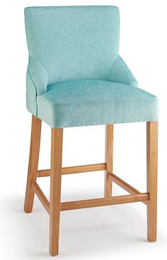 Furniture Dutiful Vintage Wooden Green Upholstered Footstool Stool Footrest Post-1950