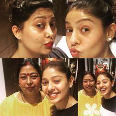 Happy times! #ganeshchaturthi Mom,Sis I love you!