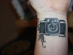 20 camera tattoos for photographers camera tattoo tattoos camera tattoos pinterest. Black Bedroom Furniture Sets. Home Design Ideas