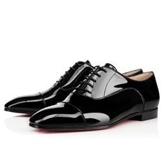 Chaussures femme - Masterpump Flat Vernis - Christian Louboutin