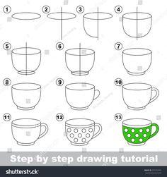 stock-vector-big-tea-cup-drawing-tutorial-375741955.jpg (1500×1600)