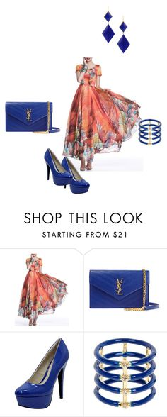 """""""Untitled##10"""" by almamehmedovic-79 ❤ liked on Polyvore featuring Yves Saint Laurent, Qupid, Elizabeth and James and Marie Hélène de Taillac"""