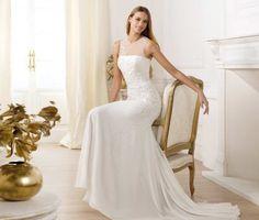 Robe de mariee de luxe Pronovias modèle Palema doccasion  Robes de ...