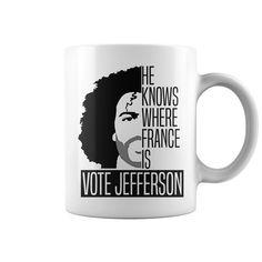 Vote For Jefferson Mug