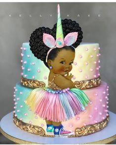 """4,928 Likes, 107 Comments - @ideiasdebolosefestas (@ideiasdebolosefestas) on Instagram: """"Que lindo este bolo. Super fofo. By @lynnanncakeparlour. #unicornio #festaunicornio #inspiracao…"""""""