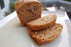 Whole-Wheat Zucchini Bread, I made these into muffins.  Batter is very dry and stiff.  I added few tbsp of 1/2 & 1/2 to loosen it up a bit.