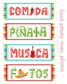 Three fun, festive and FREE Cinco de Mayo printables