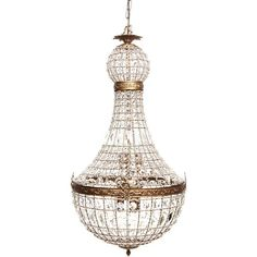 Montpellier Pendant Large (£1,355) ❤ liked on Polyvore featuring home, lighting, ceiling lights, crystal ceiling lamp, shimmer lights, crystal chandelier lamp, euro lighting and crystal lamps