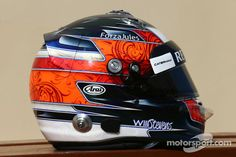 The helmet of Will Stevens, Caterham F1 Team
