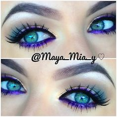 Mac designer purple pencil and naked palette 1 - maya mia Pretty Makeup, Love Makeup, Makeup Tips, Beauty Makeup, Hair Beauty, Awesome Makeup, Makeup Ideas, Lila Eyeliner, Purple Eyeliner
