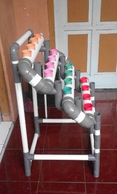 Mini DFT System untuk hidroponik