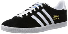 adidas Originals Gazelle OG, Herren Sneakers, Schwarz (Black 1/White/Metallic Gold), 42 2/3 EU (8.5 Herren UK) - http://on-line-kaufen.de/adidas-originals/42-2-3-eu-adidas-gazelle-og-herren-sneakers