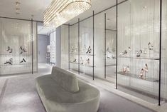 Valentino new concept store by David Chipperfield, Avenue Montagne - Paris
