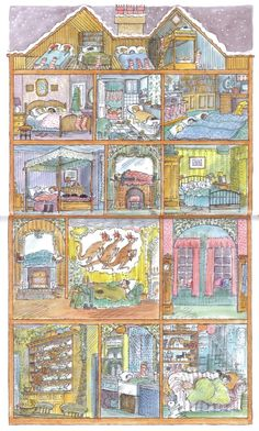 Christmas in Exeter Street by Diana Hendry and John Lawrence   tygertale