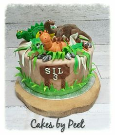 Dinosaur cake ideas Wilton pan Birthdays Pinterest Dinosaur