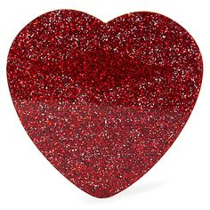 Make hearts beat faster with the Glitter Heart Brooch. Laser cut in sparkling glitter red acrylic, this beautiful brooch is the perfect present for any . Glitter Hearts, Sparkles Glitter, Red Glitter, Heart Jewelry, Heart Ring, Devine Love, Heart Beating Fast, Tatty Devine, Jewels