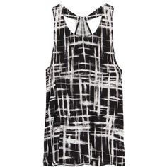 Love the print. Don't love this kind of sleeveless/tank. But the print, yes.