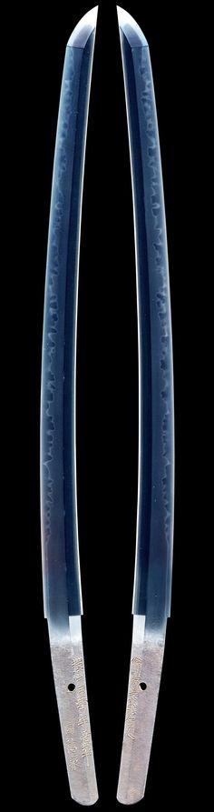 Wakizashi by Sukehira & Sukenaga - Edo Era Samurai Weapons, Katana Swords, Samurai Swords, Japanese Blades, Japanese Sword, Swords And Daggers, Knives And Swords, Martial Arts Weapons, Cold Steel