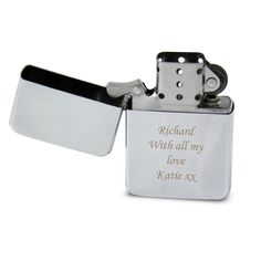 Personalised Engraved Lighter from notonthehighstreet.com