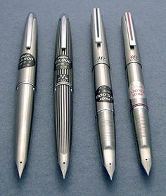 The Legendary Pilot Murex | I'm dying to own one of these babies, mostly the black stripe! Japanese Fountain Pens, Fountain Pen Ink, Pilot Pens, Luxury Pens, Vintage Pens, Pen Collection, Writing Pens, Dip Pen, Pencil And Paper